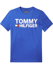 Coaststore.dk Tommy Hilfiger Kids Boys Essential Graphic Tee Blå