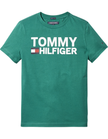 Coaststore.dk Tommy Hilfiger Kids Boys Essential Graphic Tee Grøn