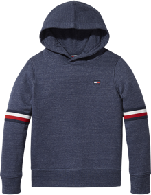 Coaststore.dk Tommy Hilfiger Kids Boys Essential Tommy Hoodie Navy