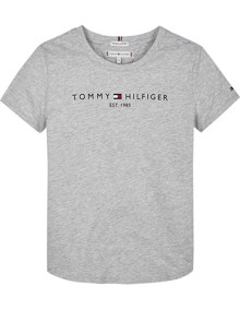 Tommy Hilfiger Essential T-shirt - Light Grey Heather | Coaststore