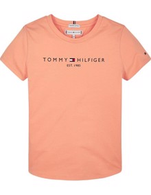 Tommy Hilfiger Essential T-shirt - Melon Orange | Coaststore
