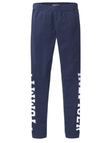 Coaststore.dk Tommy Hilfiger Kids Girls Essential Branded Leggings Navy