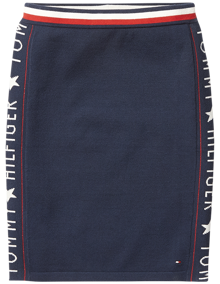 Coaststore.dk Tommy Hilfiger Kids Iconic Logo Skirt Navy