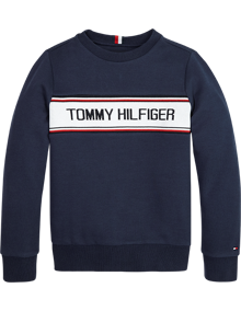 Tommy Hilfiger Intarsia Sweatshirt - Twilight Navy | Coaststore