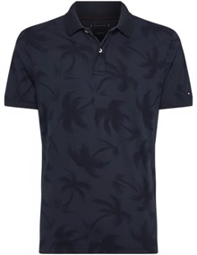 Tommy Hilfiger Allover Palm Polo T-shirt | Coaststore.dk