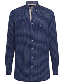 Tommy Hilfiger Gingham Dobby Skjorte - Surf The Web | Coaststore.dk