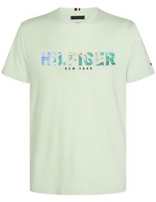Tommy Hilfiger Hilfiger Applique T-shirt - Spray | Coaststore.dk
