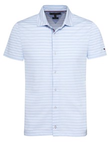 Tommy Hilfiger Ithica Polo T-shirt - Chambray Blue | Coaststore.dk