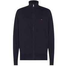Tommy Hilfiger Pima Zip Through Cardigan