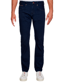 Tommy Hilfiger Tapered Stretch Jeans - Edom Blue | Coaststore