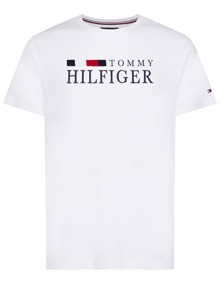 Tommy Hilfiger RWB T-shirt - Bright White | Coaststore.dk