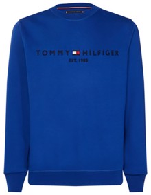Tommy Hilfiger Tommy Logo Sweatshirt - Surf The Web | Coaststore.dk