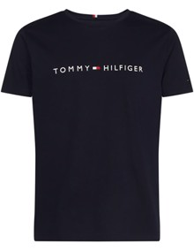 Tommy Hilfiger Core Tommy Logo T-shirt - Sky Captain | Coaststore.dk