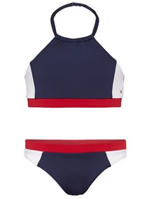 Tommy Hilfiger Kids Crop Top Bikini | Coaststore.dk