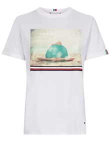 Tommy Hilfiger Bonnie T-shirt - Classic White | Coaststore.dk