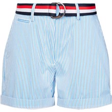 Tommy Hilfiger Stretch Striped Bermuda Shorts