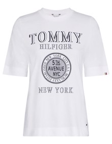 Tommy Hilfiger Darcy T-shirt - Classic White | Coaststore.dk
