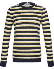 Tommy Hilfiger Essential Cable Sweater | Coaststore.dk