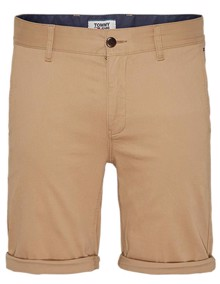 Tommy Jeans Essential Chino Shorts - Classic Khaki | Coaststore