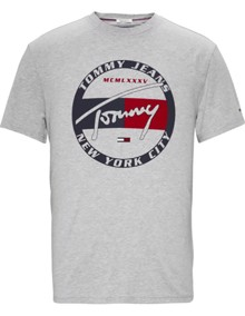 Tommy Jeans Circle Graphic T-shirt | Coaststore.dk