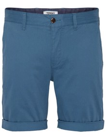 Tommy Jeans Essential Chino Shorts - Audacious Blue | Coaststore