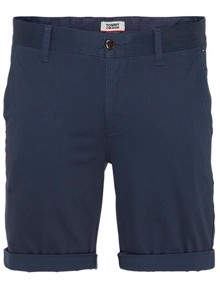Tommy Jeans Essential Chino Shorts - Black Iris | Coaststore