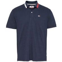 Tommy Jeans Flag Neck Polo T-shirt
