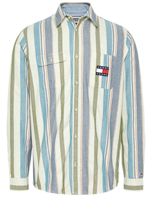 Tommy Jeans Multi Stripe Skjorte - Multi | Coaststore