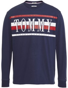 Tommy Jeans Retro Long Sleeve Bluse | Coaststore.dk