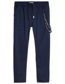 Tommy Jeans Scanton Solid Sweatpants - Twilight Navy | Coaststore