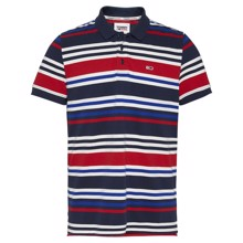 Tommy Jeans Seasonal Stripe Polo T-shirt