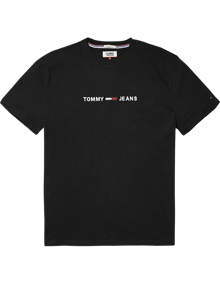 Coaststore.dk Tommy Jeans Men Small Text T-shirt Sort