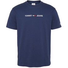 Tommy Jeans Straight Logo T-shirt