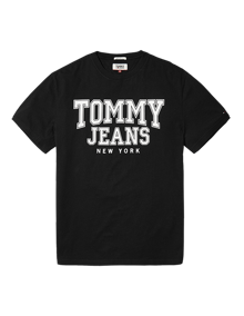 Coaststore.dk Tommy Jeans Men Essential College T-shirt Sort