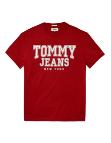 Coaststore.dk Tommy Jeans Men Essential College T-shirt Mørkegrå