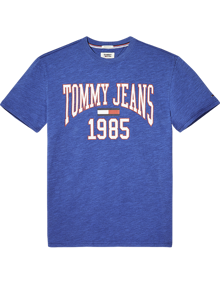 Coaststore.dk Tommy Jeans Men Collegiate T-shirt Blå
