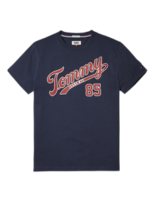 Coaststore.dk Tommy Jeans Men Essential Script T-shirt Navy