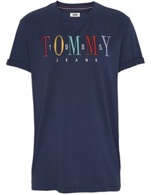 Tommy Jeans 1985 Embroidery T-shirt | Coaststore.dk