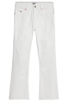 Tommy Jeans Katie Crop Flare Jeans - Mars White | Coaststore
