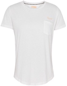 Tommy Jeans Pocket Detail T-shirt - White | Coaststore