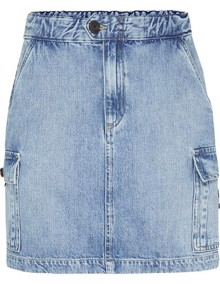 Tommy Jeans Short Cargo Nederdel - Carol Light Blue | Coaststore