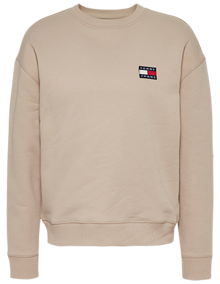 Tommy Jeans Tommy Badge Sweatshirt - Silt | Coaststore