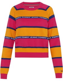 Coaststore.dk | Tommy Jeans Tommy Graphic Stripe Sweater