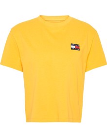 Tommy Jeans Badge T-shirt - Spectra Yellow | Coaststore